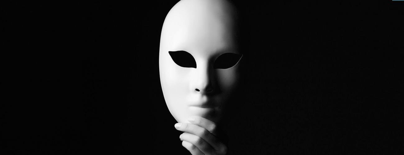 sentirsi bene gettare maschera