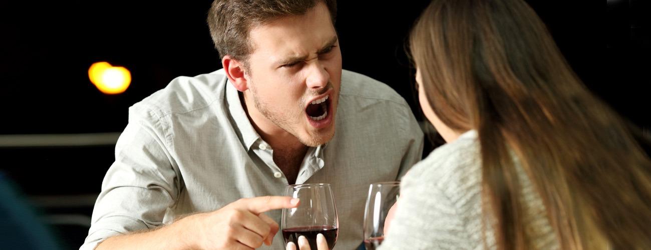 scatti d'ira e irascibilità